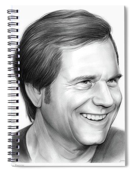 Bill Paxton Spiral Notebook