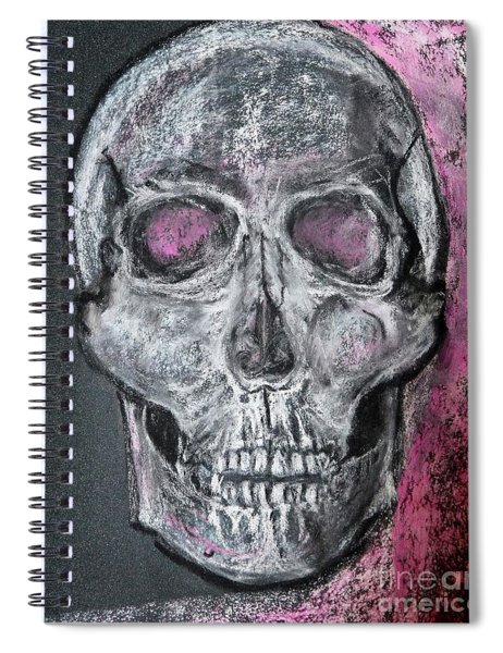 Billie's Skull Spiral Notebook