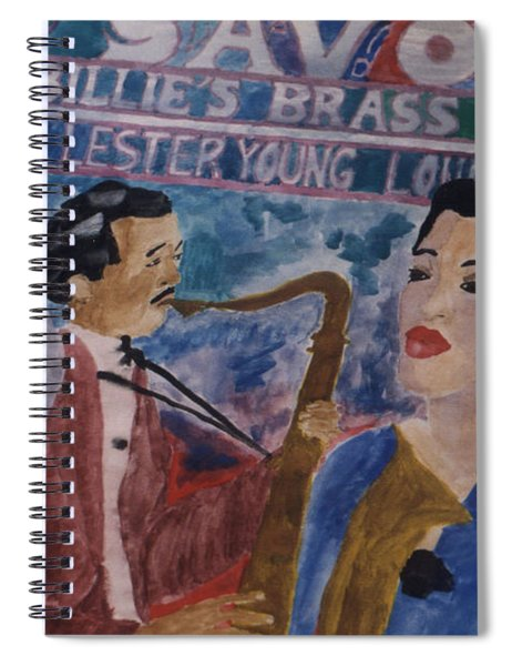 Billie's Brass Band Spiral Notebook