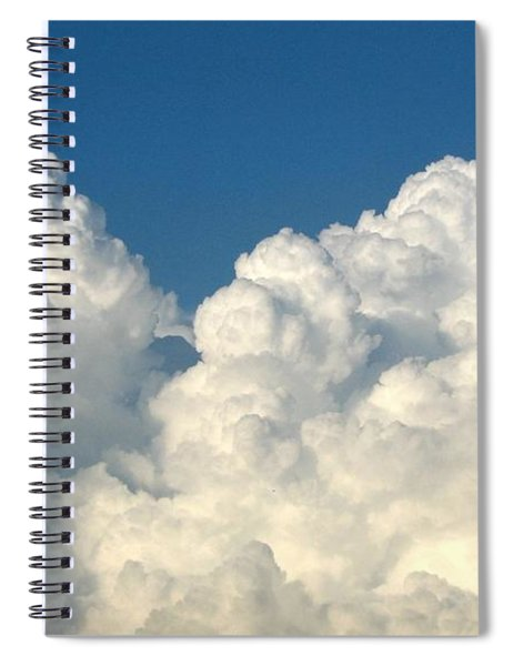 Billowing Clouds 1 Spiral Notebook