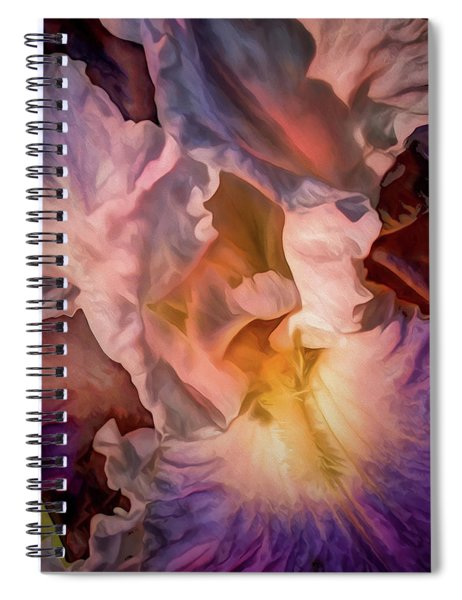 Billowing Grace 7 Spiral Notebook