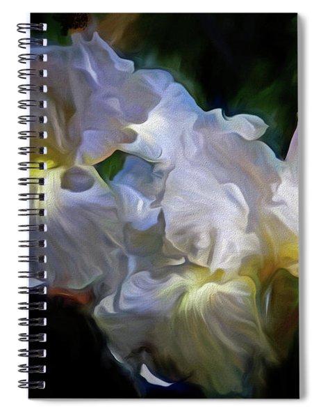 Billowing Irises Spiral Notebook