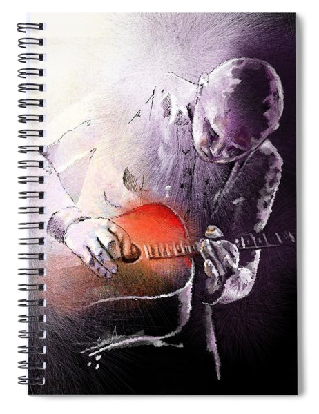Billy Corgan Spiral Notebook