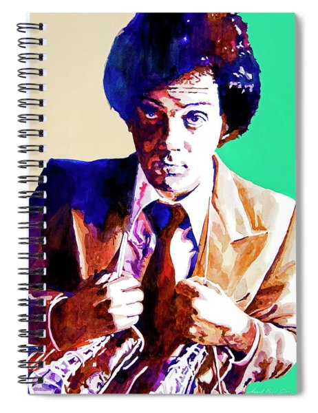 Billy Joel - New York State Of Mind Spiral Notebook