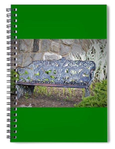 Biltmore Bench Spiral Notebook
