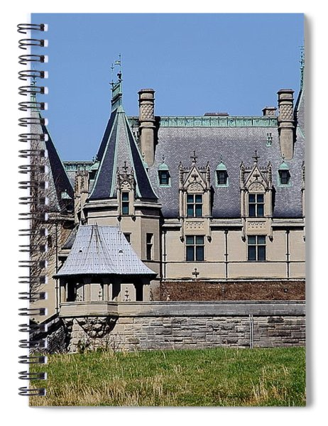 Biltmore House - Side View Spiral Notebook
