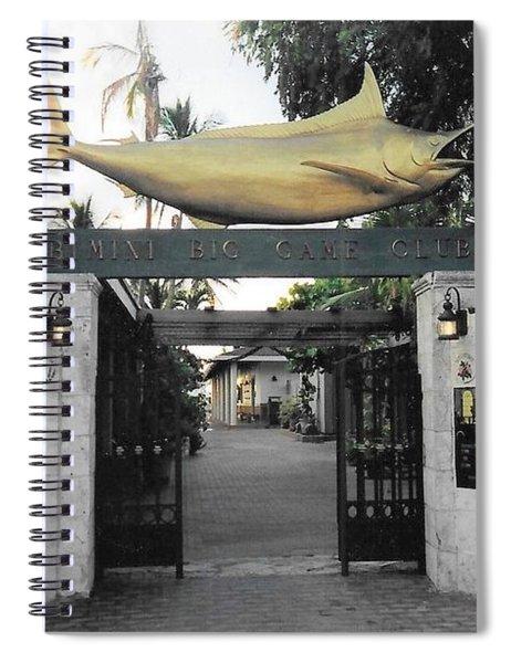 Bimini Big Game Club Spiral Notebook