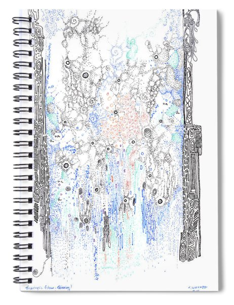 Bingham Fluid Or Paste Spiral Notebook