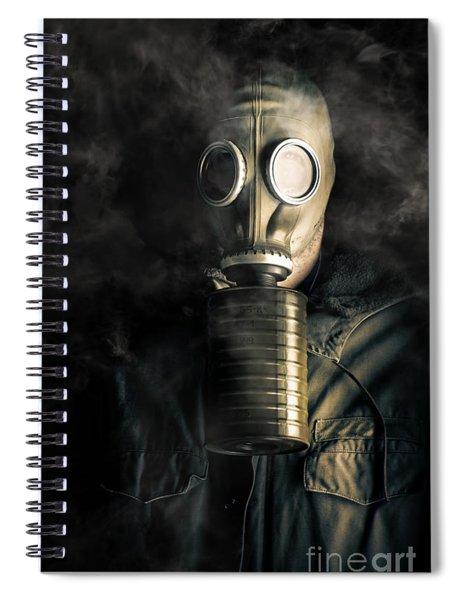 Biohazard Death And Destruction Spiral Notebook