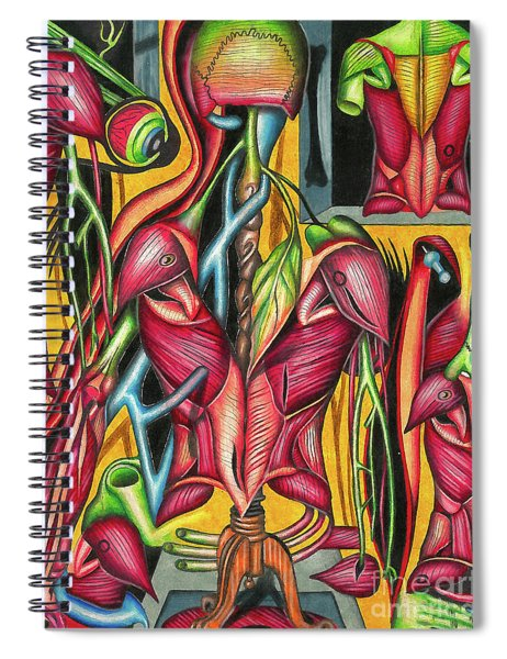 Biological Fusion Spiral Notebook
