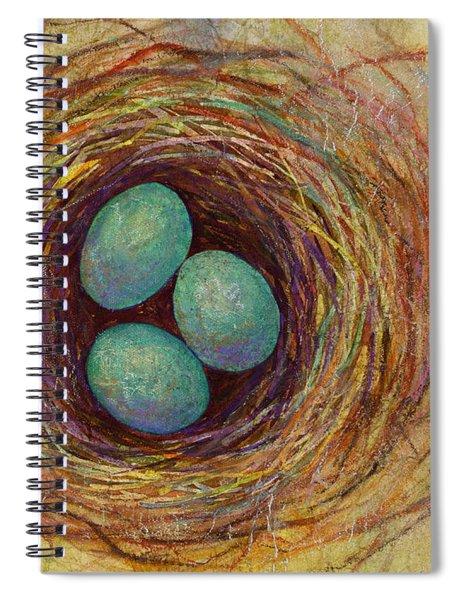 Bird Nest Spiral Notebook