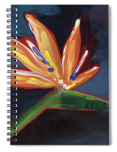Bird Of Paradise- Art By Linda Woods Spiral Notebook