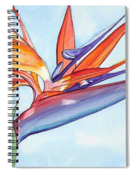 Bird Of Paradise IIi Spiral Notebook