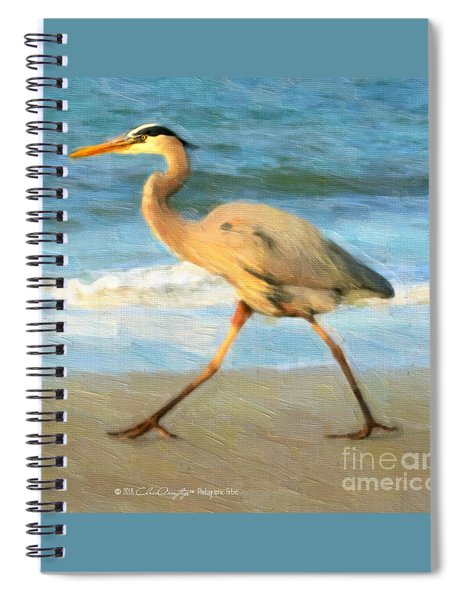 Bird With A Purpose Spiral Notebook