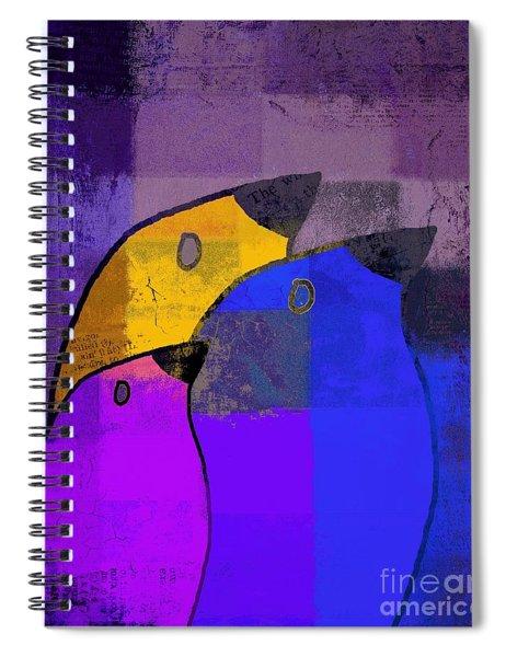 Birdies - C02tj126v5c35 Spiral Notebook