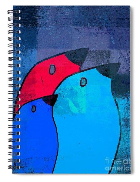 Birdies - C2t1j126-v5c33 Spiral Notebook
