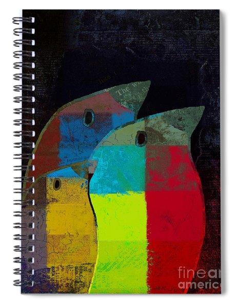 Birdies - C2t1v4 Spiral Notebook