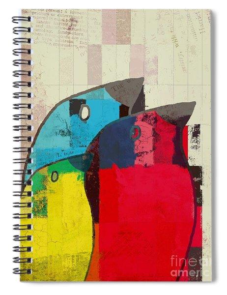 Birdies - J039088097a Spiral Notebook