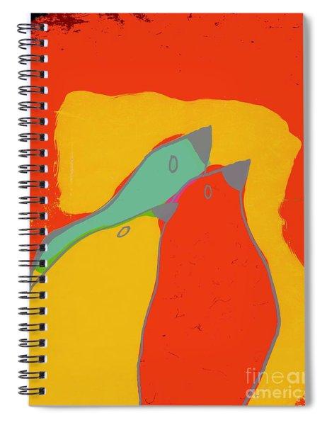 Birdies - Q11b22 Spiral Notebook
