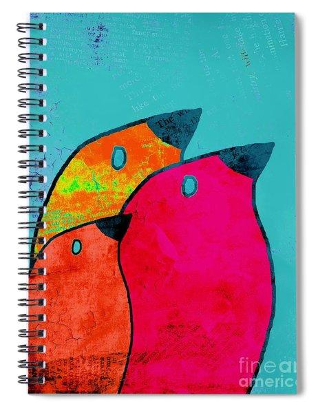Birdies - V03a Spiral Notebook