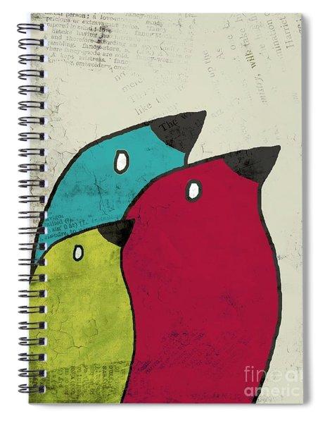 Birdies - V101s1t Spiral Notebook