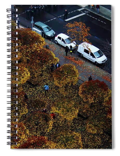 Bird's Eye Over Berlin Spiral Notebook