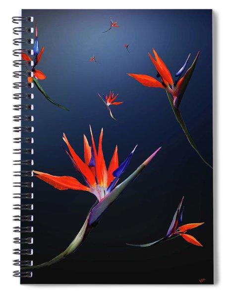 Birds Of Paradise Spiral Notebook
