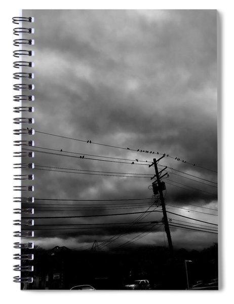Birds On A Wire 2018 Spiral Notebook