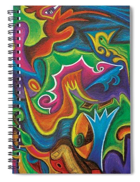 Birth Canal Spiral Notebook