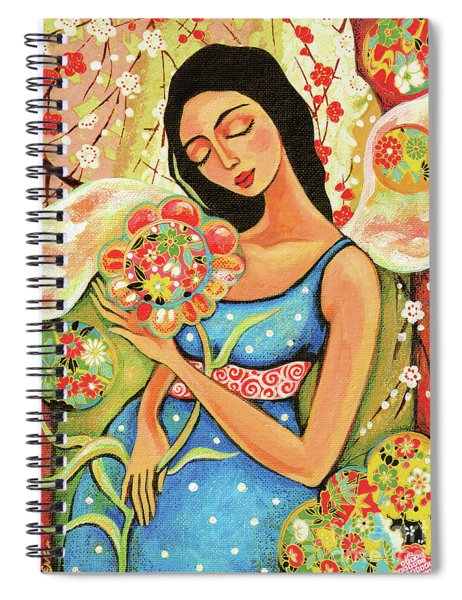 Birth Flower Spiral Notebook