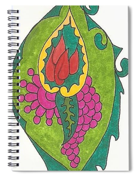 Birth Spiral Notebook