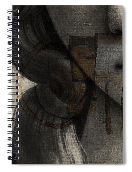 Birth Of Venus Retro Spiral Notebook