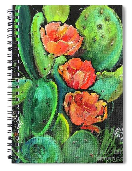 Birthday Blooms Spiral Notebook