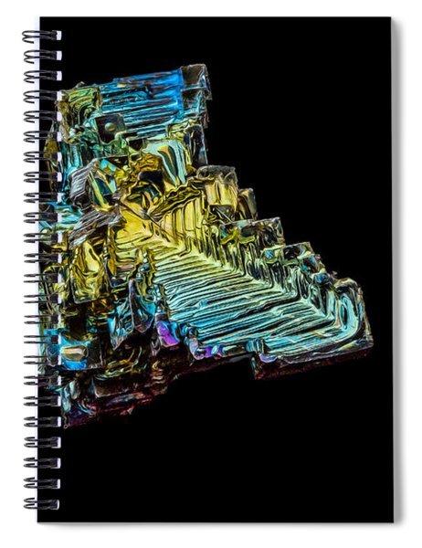 Bismuth Crystal Spiral Notebook