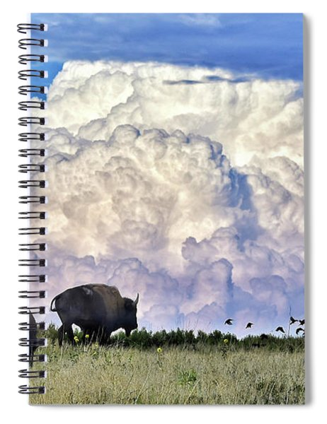 Bison Country Spiral Notebook