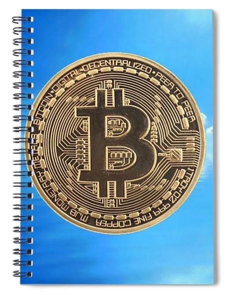 Bitcoin Revolution Spiral Notebook
