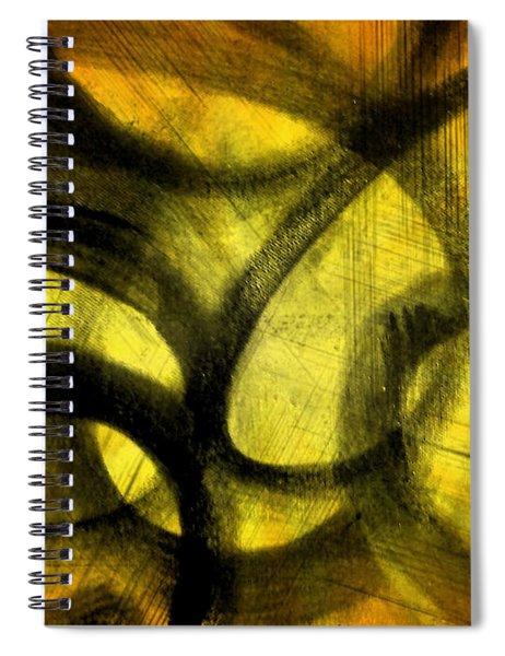 Biting Soul Spiral Notebook