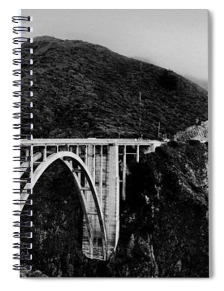 Bixby Bridge - Big Sur - California Spiral Notebook