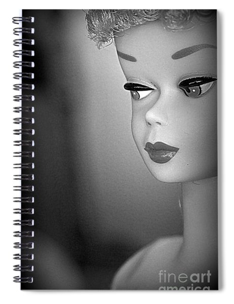 Black And White Reproduction Spiral Notebook