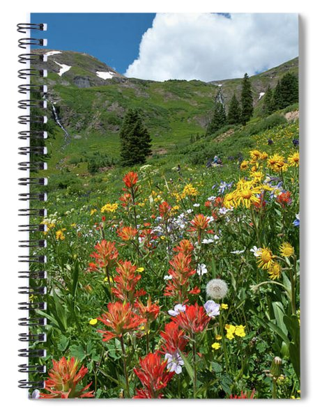 Black Bear Pass Landscape Spiral Notebook
