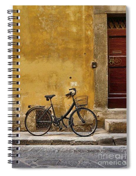 Black Bike Spiral Notebook