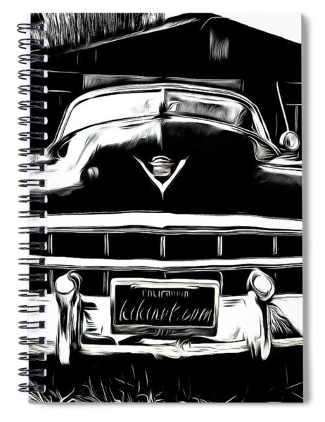 Black Cadillac Spiral Notebook