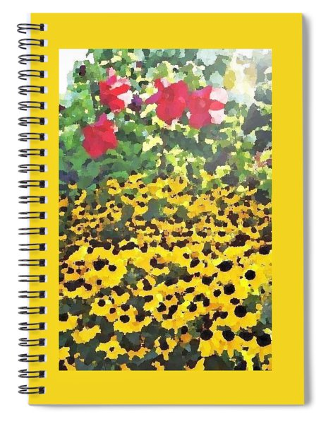 Black-eyed Susans - Flowers Of Bethany Beach Spiral Notebook