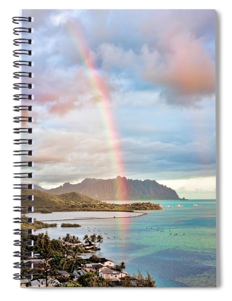 Black Friday Rainbow Spiral Notebook