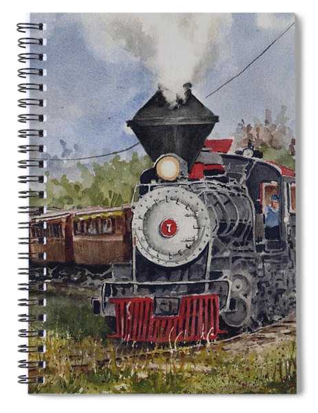 Black Hills Central Number 7 Spiral Notebook