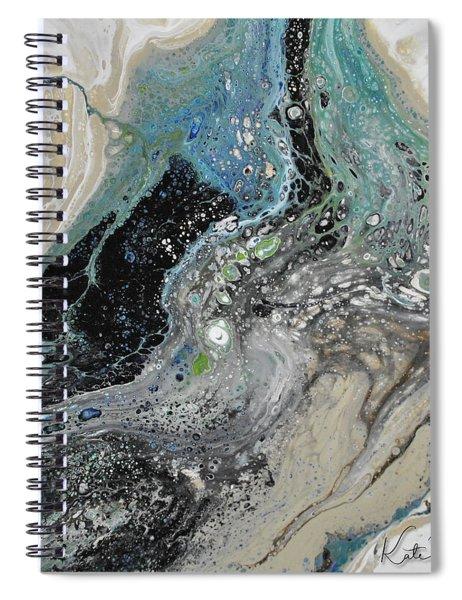 Black Ice 1 Spiral Notebook