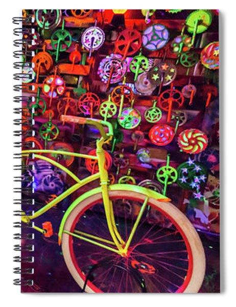 Black Light Special Spiral Notebook
