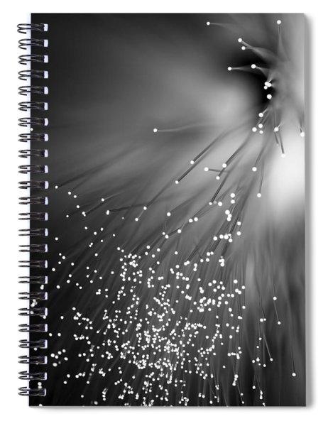 Black Night Spiral Notebook