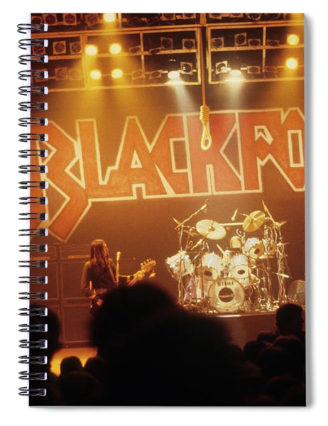 Blackfoot On Stage Spiral Notebook