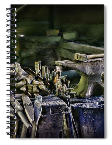 Blacksmith - This Is My Anvil Spiral Notebook